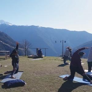 Yoga and Meditation Trek to Tamang Heritage Langtang